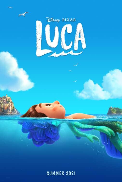 Luca movie by disney Pixar