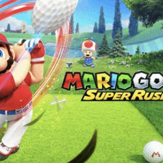 super Mario golf game night
