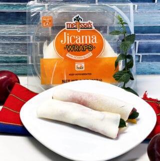 dessert jicama wraps