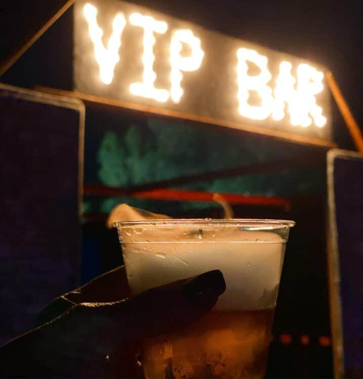 vip bar at Temecula terror