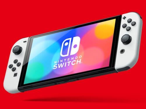 new OLED Nintendo Switch