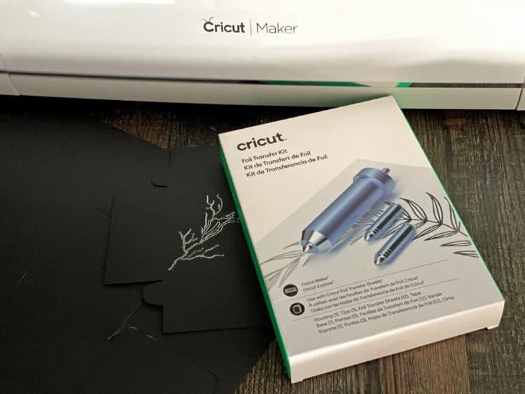 Cricut foil transfer kit