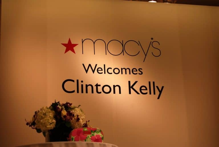 Clinton Kelly and Macy's Victoria Gardens Fashion Event