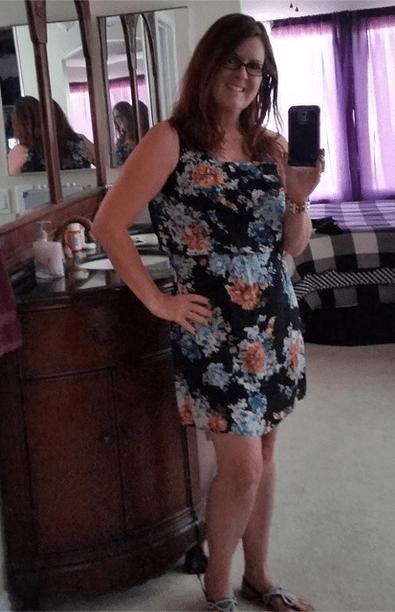 Dress selfie