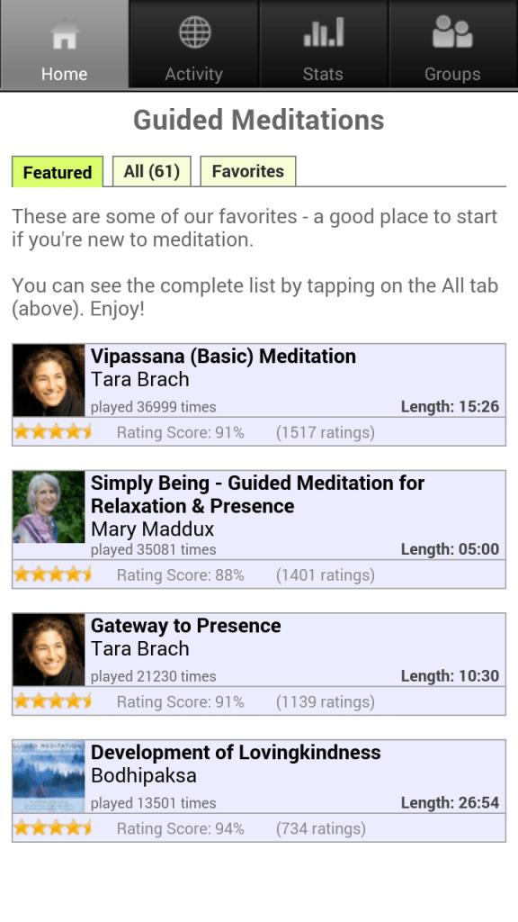 guided meditation app