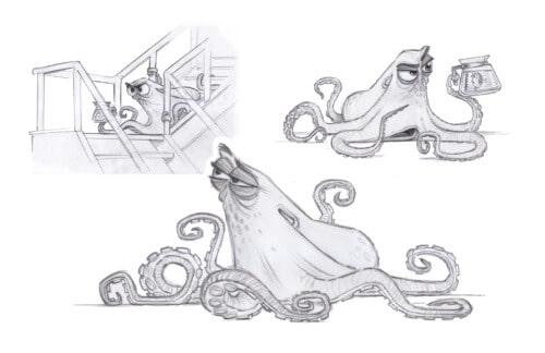 hank the cantankerous octopus