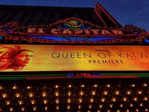 Queen of Katwe Premiere