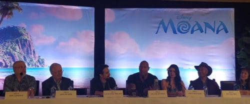 moana press junket