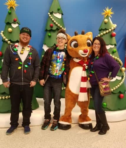 Celebrating Christmas at Sea World